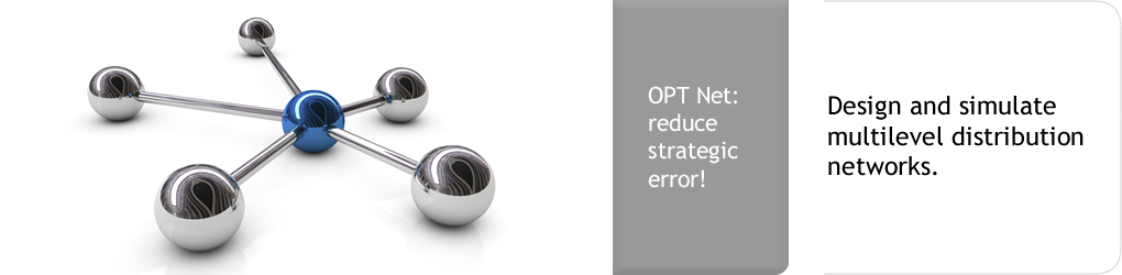 OPT Net: reduce strategic error! Design and simulate multilevel distribution networks.