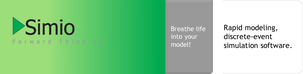 Breathe life into your model Rapid modeling, discrete-event simulation software.